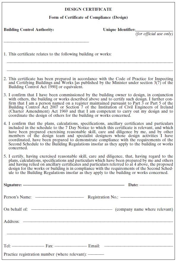 S I  No  9/2014 - Building Control (Amendment) Regulations 2014
