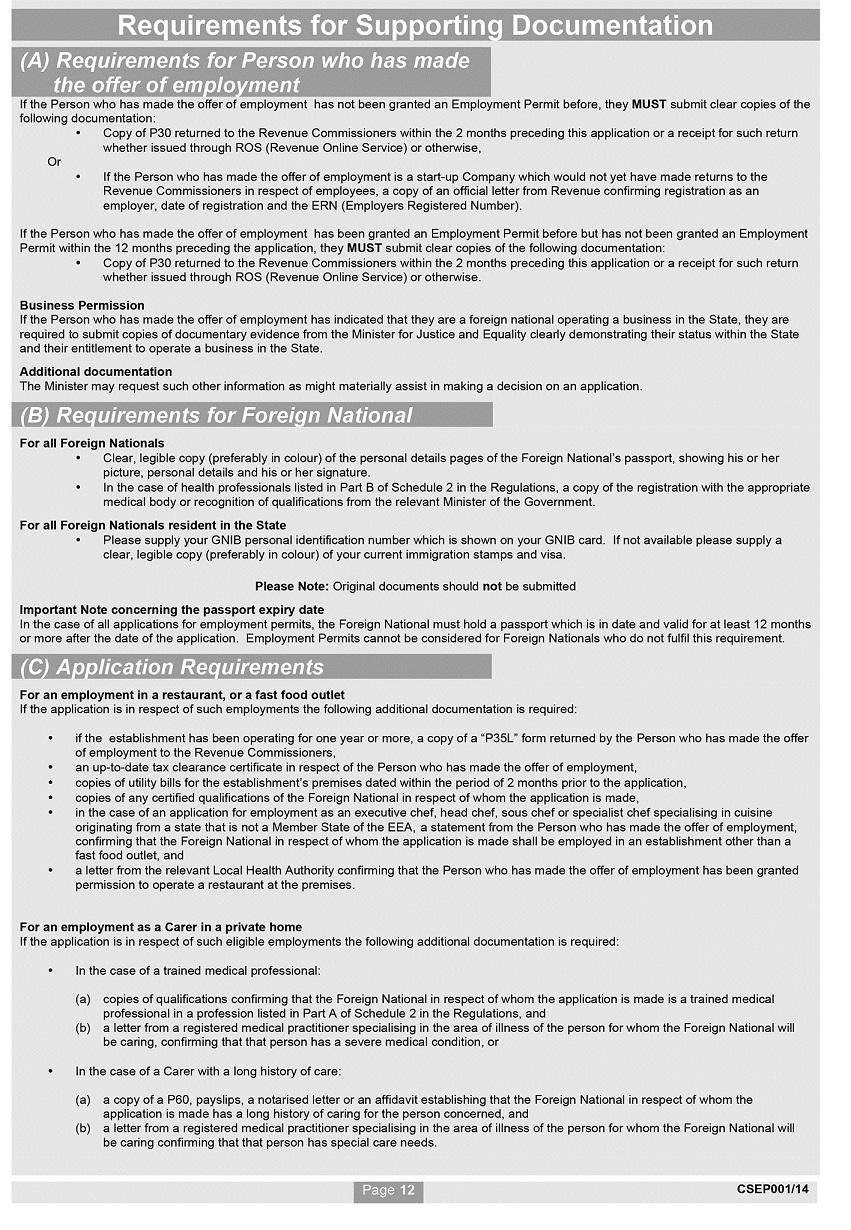 s i no 432 2014 employment permits regulations 2014