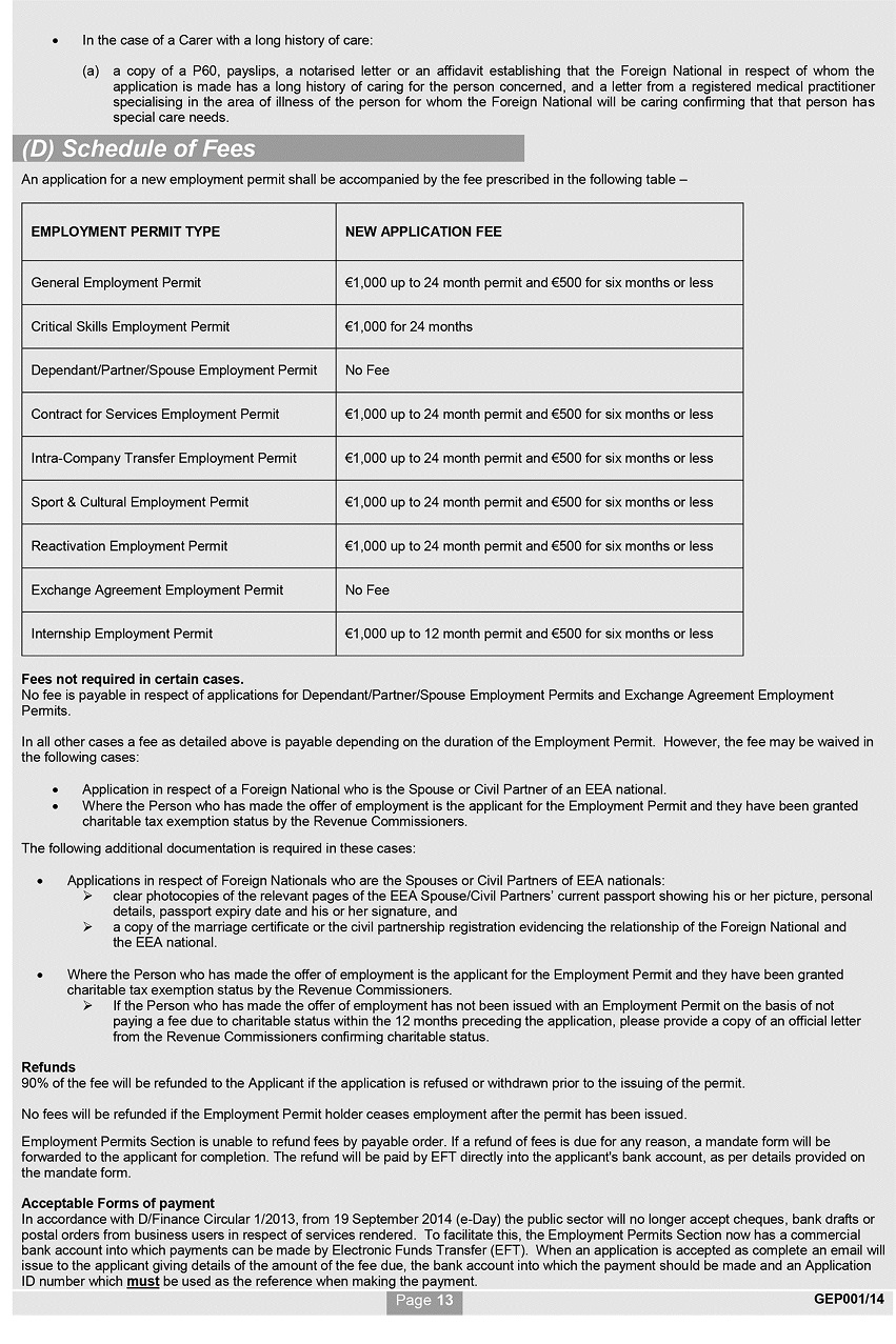 Si no 4322014 employment permits regulations 2014 1betcityfo Gallery