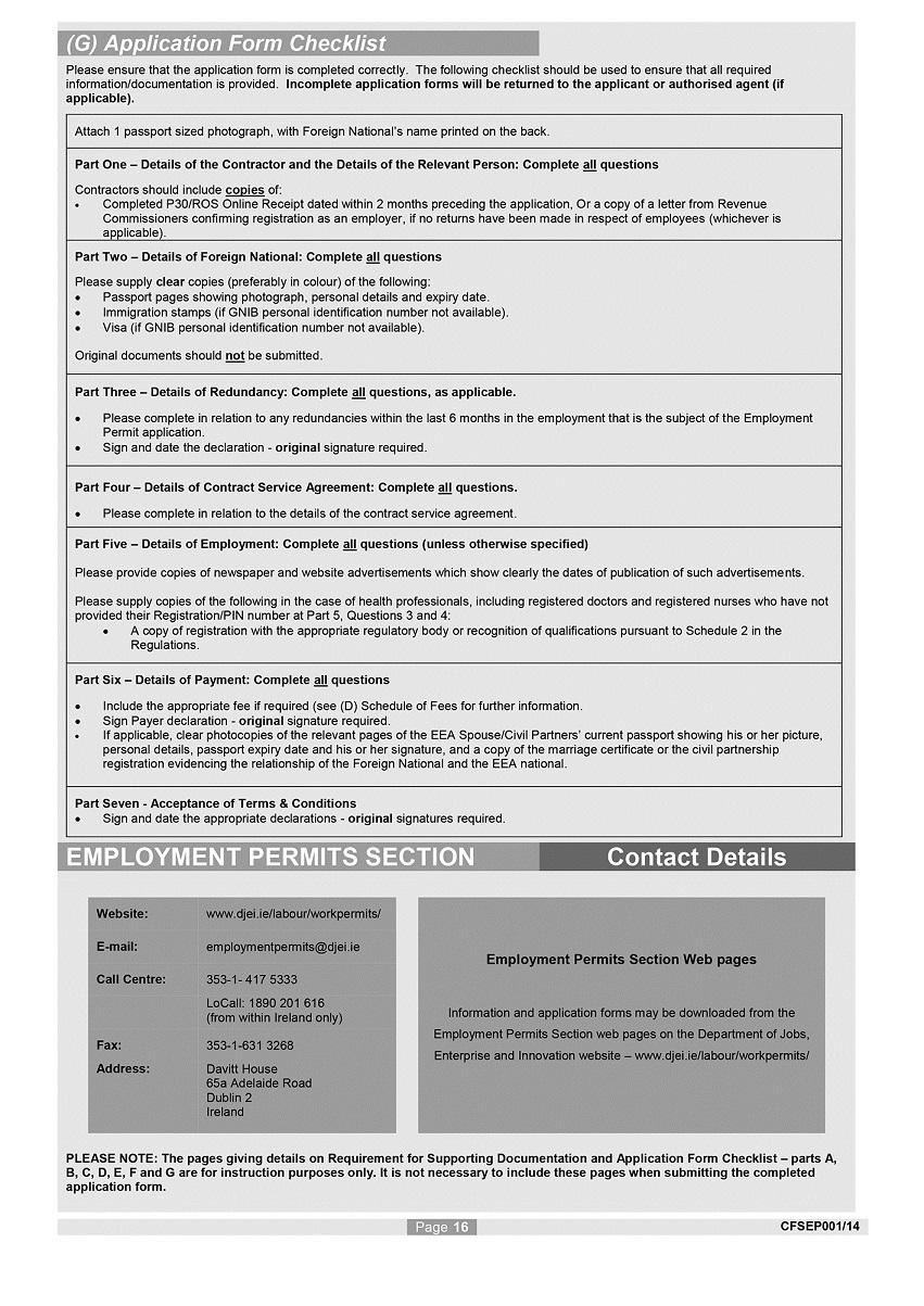 S I  No  432/2014 - Employment Permits Regulations 2014