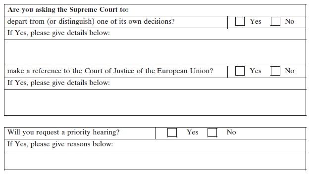 superior motion form court