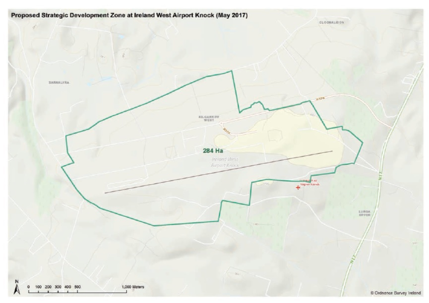 Map Of Ireland Knock Airport.S I No 266 2017 Planning And Development Act 2000 Designation